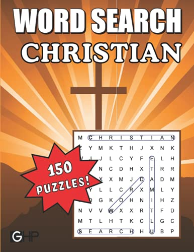 Compare Textbook Prices for Christian Word Search: Bible Word Find Puzzle Book for Adults, Seniors and Kids  ISBN 9781639750412 by Publishing, Greater Heights