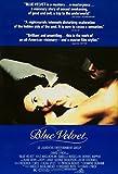 Blue Velvet 1986 David Lynch Klassisches Filmposter, in
