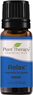 Plant Therapy Relax Essential Oil Blend for Sleep & Stress 100% Pure, Undiluted, Natural Aromatherapy, Ther...