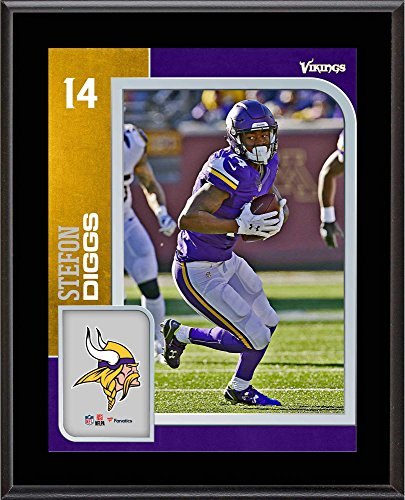 Stefon Diggs Minnesota Vikings 10.5'' x 13'' Sublimated Player Plaque - NFL Player Plaques and Collages