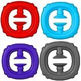 ITNP Juguete Snapperz Fidget, Silicona Sensorial Fidget Juguete Fidget Snapper Toy Sensorial Fidget Autismo Necesidades Especiales Aliviador estrés Juguetes Educativos para Niños Adultos
