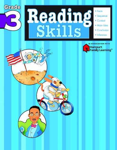 Compare Textbook Prices for Reading Skills: Grade 3 Flash Kids Harcourt Family Learning Workbook Edition ISBN 9781411401150 by Flash Kids Editors