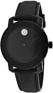 Movado Bold Black Dial Ladies Watch 3600483