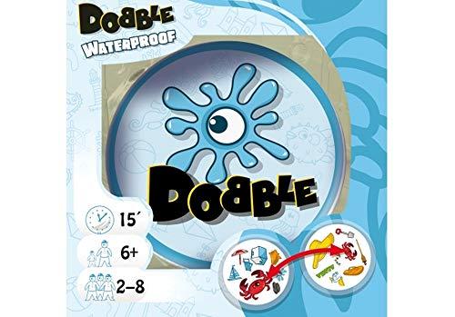 Zygomatic ASMD0034 Asmodee Dobble Waterproof, Familienspiel, Reaktionsspiel, Deutsch