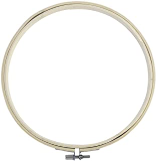 Mandalaa 6 Different Size Round Shape Handy Wooden Cross Stitch Machine Embroidery Hoop Ring Bamboo Sewing Tool Accessory Clothes Clips