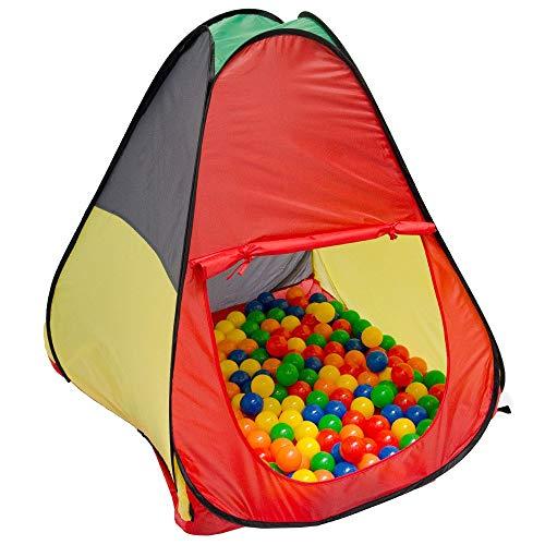 LittleTom Ballenbad Speeltent 90x90x100cm - Popup Baby Speelhuisje Kindertent