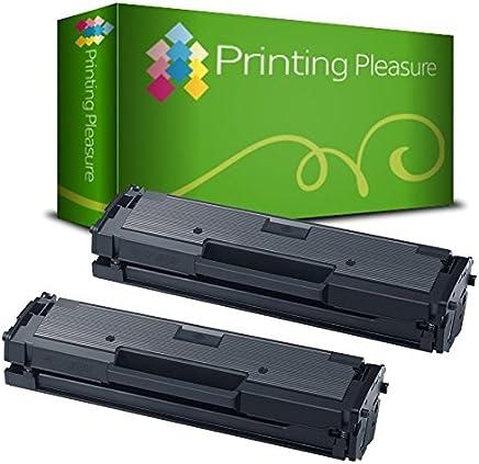 2 Toner Compatibili per Samsung Xpress M2020 W, M2021 W, M2022 W, M2026 W, M2070 W FW F FH HW, M2071 W FH HW, M2078 W Serie | MLT-D111S/ELS, Colore: Nero