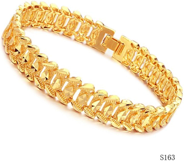 KDesign accessories overlooks gold honorable male bracelet rhombus ks163