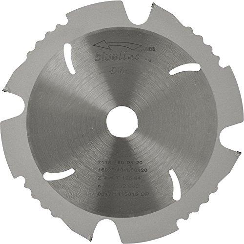 AKE 71181600420 Diamant-Kreissägeblatt, Durchmesser 160 x 2,4 x 20 mm, negativ