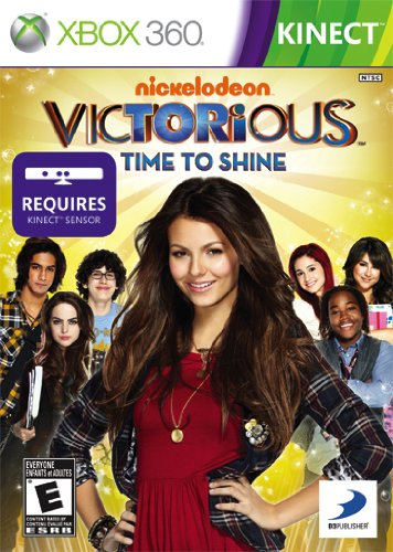 D3Publisher Victorious: time to shine, Xbox 360, ESP