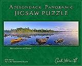 Carl E. Heilman II Adirondack Jigsaw Puzzle, Panoramic, Reflections at Dawn - RDPZ
