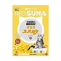 【お徳用 4 セット】 ネオ砂 オカラ 6L (ネオ・ルーライフ)×4セット