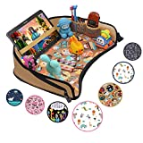 DMoose Kids Travel Activity Tray – Non-Flimsy, Tablet Holder,...