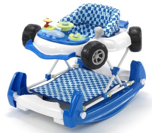 Mychild 2-in-1 Car Walker Blue