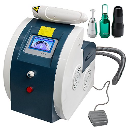 Eyebrow Hair Removal Machine,vinmax Professional Permanent Tattoo Eyebrow Removal Machine Eye Lip Pigment Remover Device for Freckle Old Aged Marks Makeup Beauty Machine for Salon or Home Use