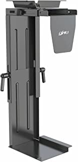 gku Under Desk Computer Case Holder, PC Mount Bracket PC Tower Holder Computer Tower Holder Stand AC1010