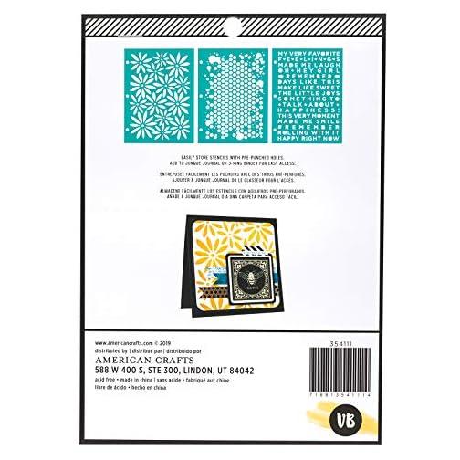 Vicki Boutin Icons Stencil Set  