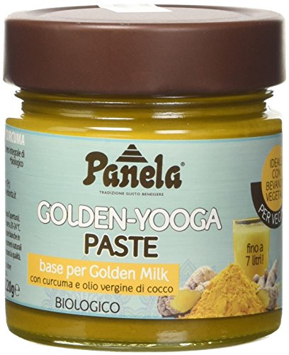 Panela Golden-Yooga Paste: Base per Golden Milk - 220 G