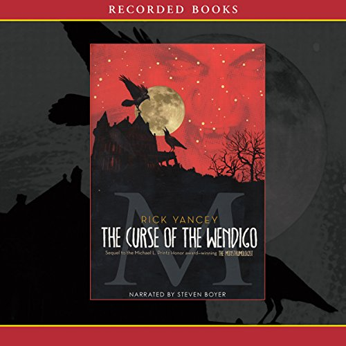 The Curse of Wendigo audiobook cover art