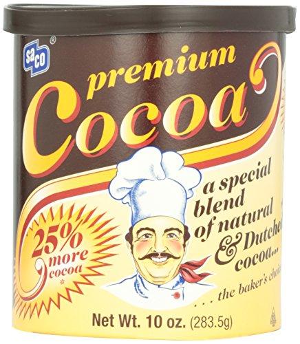 Saco Foods Premium Cocoa, 10 oz