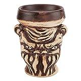 SSOLEREIT Arabischer Shisha Keramiktopf kreativer und interessanter Keramikrauchtopf individuelle...