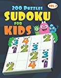 4x4 Sudoku for Kids Ages 4-8 & Kids Sudoku 6x6 | Very Easy Sudoku for Beginners: All Easy Sudoku Puzzle Books for Kids | Monster Book of Sudoku For Kids (Super Easy Sudoku Book for Smart Kids)
