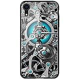Custodia® Backplane di Vetro + TPU Morbido Carcassa Specchio Custodia per Apple iPhone XR(2)