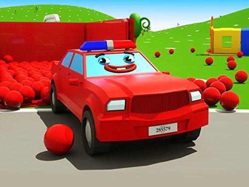 Farben lernen mit Polizeiauto