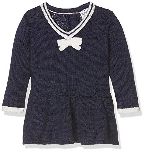 Kanz Mädchen Kleid Kleid 1/1 Arm, Gr. 80, Blau (Peacoat 3470)