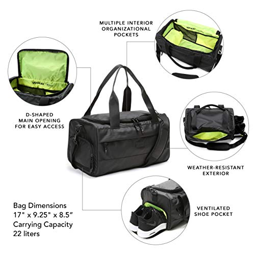 Best Women's Gym Bag with Shoe and Laptop Compartment