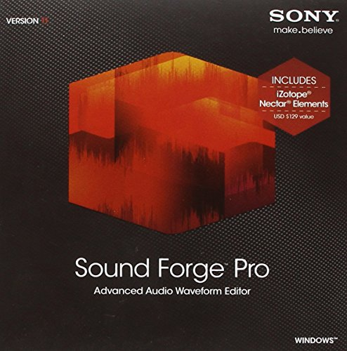 SONY Sound Forge Pro 11 Upgrade
