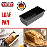 Nonstick Loaf Pan for Baking - 10' x 5' x 3' inch Meatloaf Pan, Bread Pan Baking...