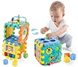 Orapple by R for Rabbit Little Master Activity Cube Kids Multipurpose Toys for 1, 2, 3, 4 Years Old (Multi Color)