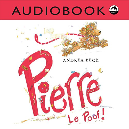 Pierre Le Poof! audiobook cover art