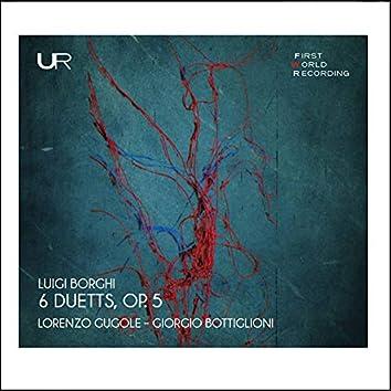 Borghi: 6 Duets, Op. 5