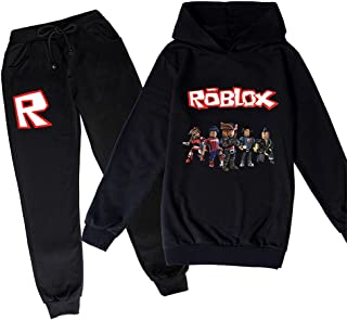 ZKDT Roblox - Sudadera con capucha clásica y cómoda para niños y niñas de 3 a 14 (estilo 7,140)