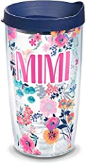 Made in America & Lifetime & BPA free Great for both hot & cold Microwave & dishwasher safe Reduces condensation Printed wrap-around design (sealed between walls of tumbler)
