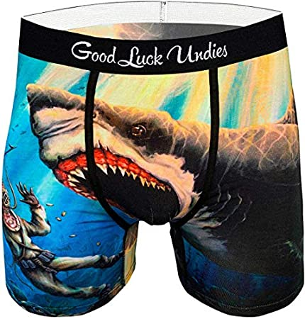 Men's Shark Attack Boxer Brief Underwear