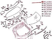 MB GLA X156 リア パネル ドア モデル プレート A1568171000 NEW GNUINE