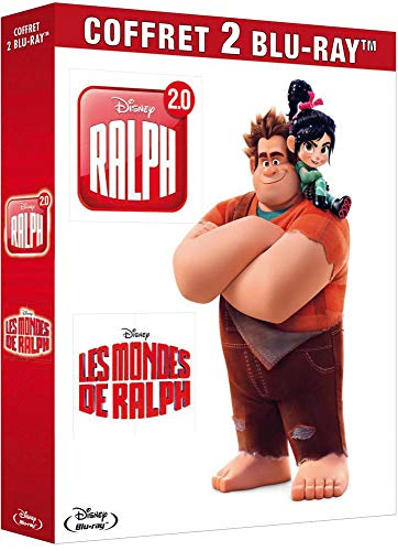 Les Mondes des Ralph + Ralph 2.0 [Francia] [Blu-ray]