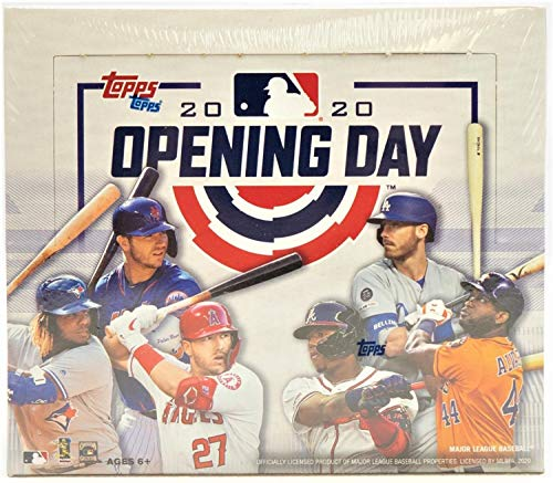 Topps 2020 Opening Day Baseball Hobby Box MLB