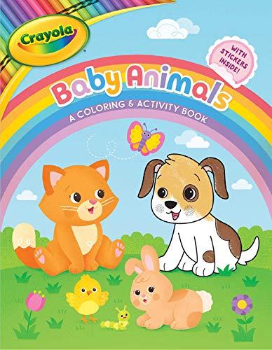 Crayola Baby Animals: A Coloring & Activity Book: 10