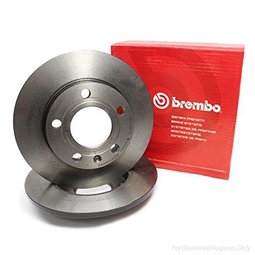 Preisvergleich Produktbild Brembo 08.9918.20 Bremsscheibe - Paar