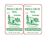 WEISENBERGER Pizza Crust Mix - Small Batch, Artisan baking mixes fresh from the mill - 6.5 oz pouches [2-pack]