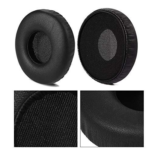 Zerone 2Pcs Ear Cushion Earpad Replacement, Leather Earpad Ear Cover EarCushion Replacement for AKG Y40 Y45BT Y45 Y50 Y55 Headsets Headphones