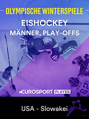 Eishockey: Männer, Play-offs - USA - Slowakei
