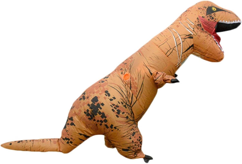 Erwachsene T-Rex Aufblasbares Kostüm Halloween Kostüm Funny Fancy Dress Braun B074PJYTG5 Creative  | Ausgewählte Materialien