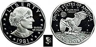 1981 S Susan B. Anthony Type 1 Proof Dollar Dollar Perfect Uncirculated US Mint