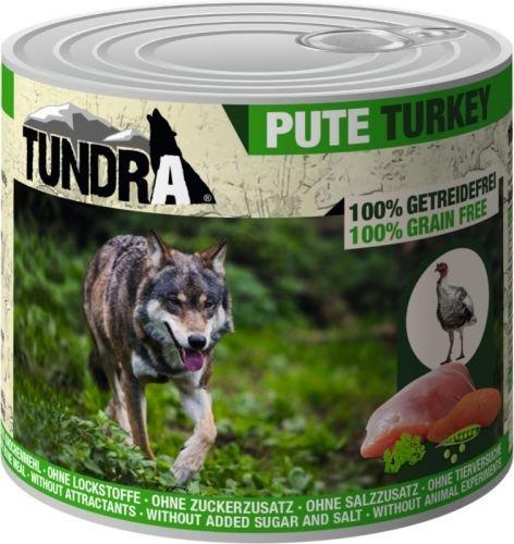 Tundra Hundefutter Pute Nassfutter (6 x 400g)