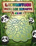 Labyrinthes pour les enfants, 4 ans et +: livre de puzzles et activités pour les enfants | Jeux, casse-tête et résolution de problèmes | Idéal pour ... de 4 ans (Grand Livre de Jeux Labyrinthe).
